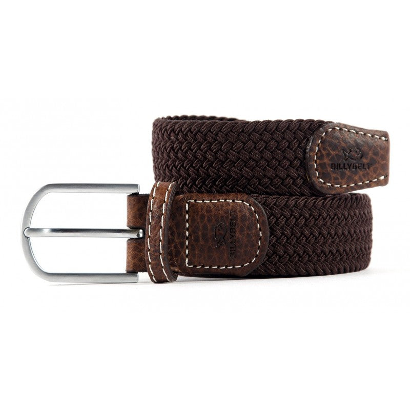 BillyBelt - Woven Stretch Belt - Brown