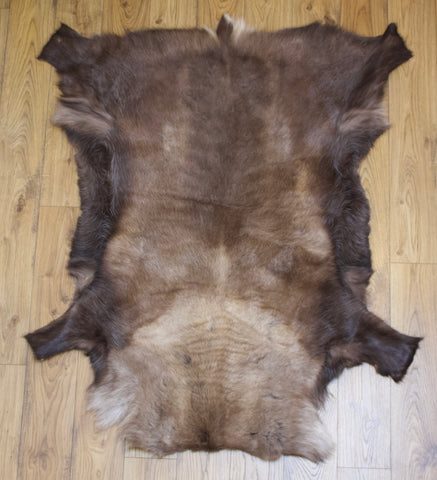 Hanlin Large Reindeer Hide - Dark (2)