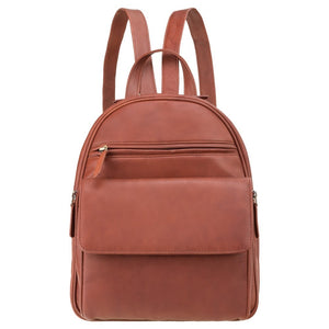 Visconti (Gina) Ladies Brown Leather Backpack