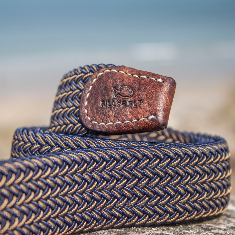 BillyBelt Premium Woven Elastic Stretch Belt The Havana