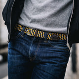 BillyBelt - Woven 'Stretchy' Belt - The Santorini