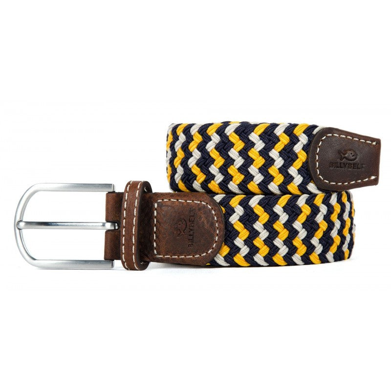 BillyBelt Premium Woven Elastic Stretch Belt The Santorini