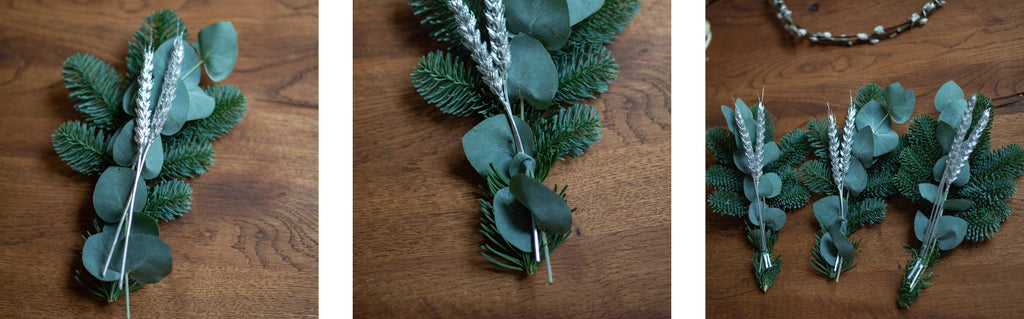 create christmas wreath bundles