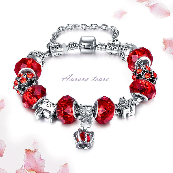 Charm Female Crystal Bead Stone Pulseras Bracelet & Bangle Jewelry