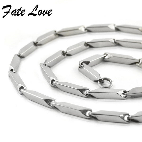 Classic 316L Stainless Steel Necklace for Women/Men Chain Necklace