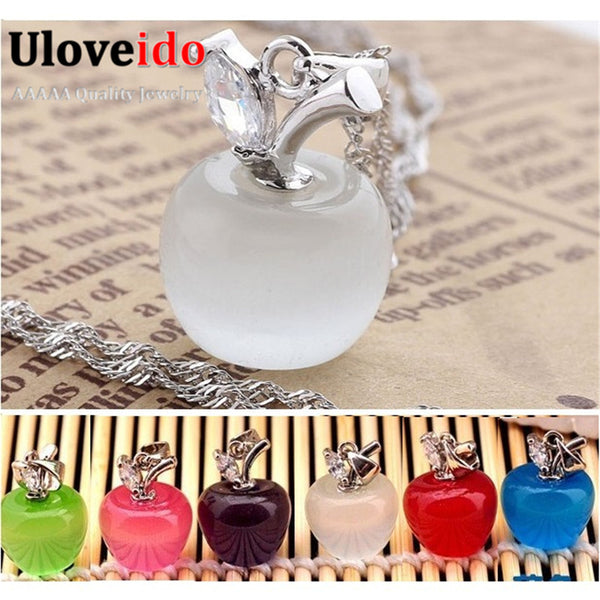 Crystal Women Necklace Pendants -  Necklaces with Chain for Girlfriend & Kids Fashion Jewelry Wholesale Ulove