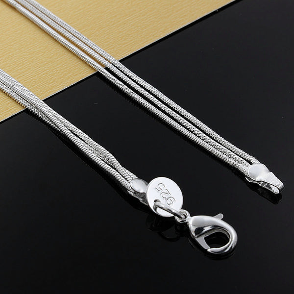 Fine jewelry charm silver plated bead necklace - classic high-quality fashion accessories priced at direct wholesale gift N020