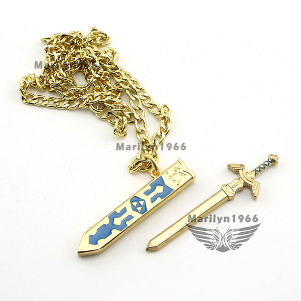Legend of Zelda Removable Master Sword Pendant Necklace