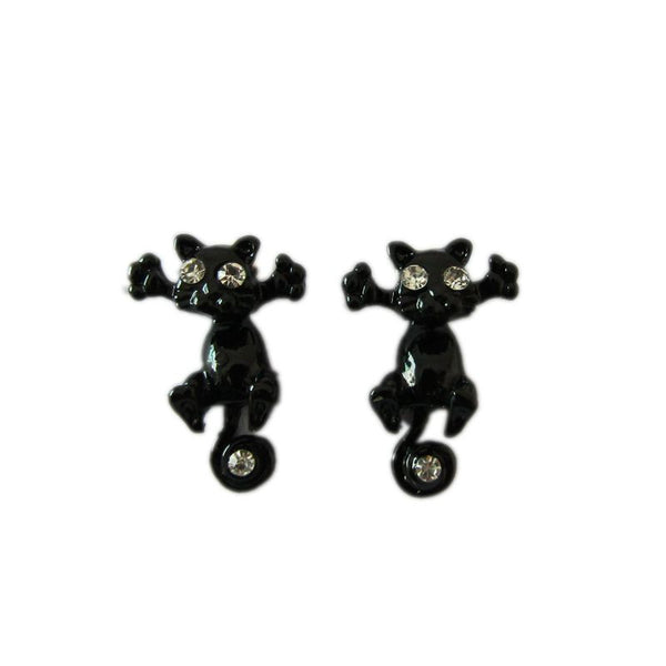 Korean Cat Earrings Jewelry