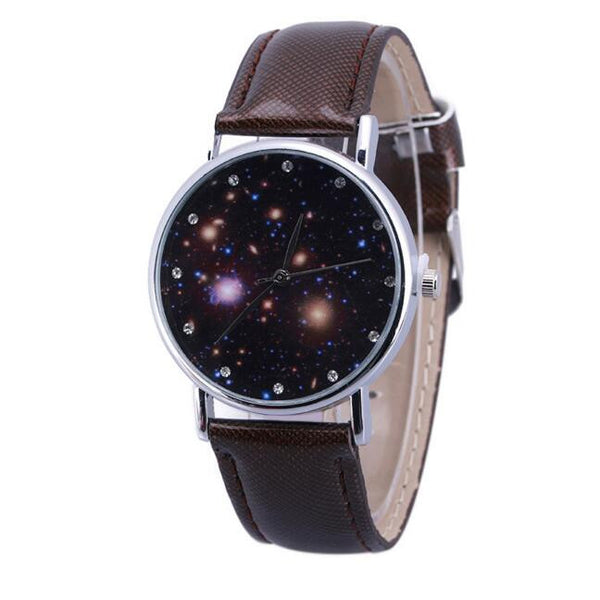 Luxury Deep Space Galaxy Belt Watches