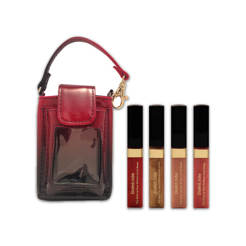 4 High Shine Lip Glosses