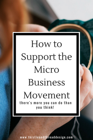 How You Can Support the Micro Business Movement
