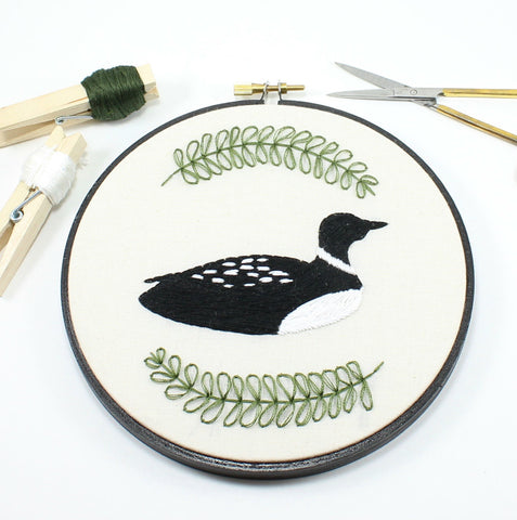 Embroidery Hoop Art | Thistle and Thread Design