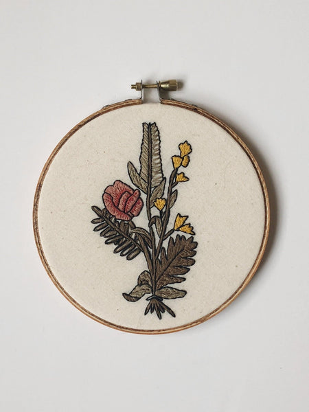 Wildflower Do-It-Yourself Embroidery Kit