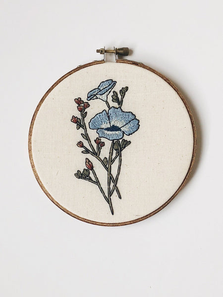 Anemone Do-It-Yourself Embroidery Kit