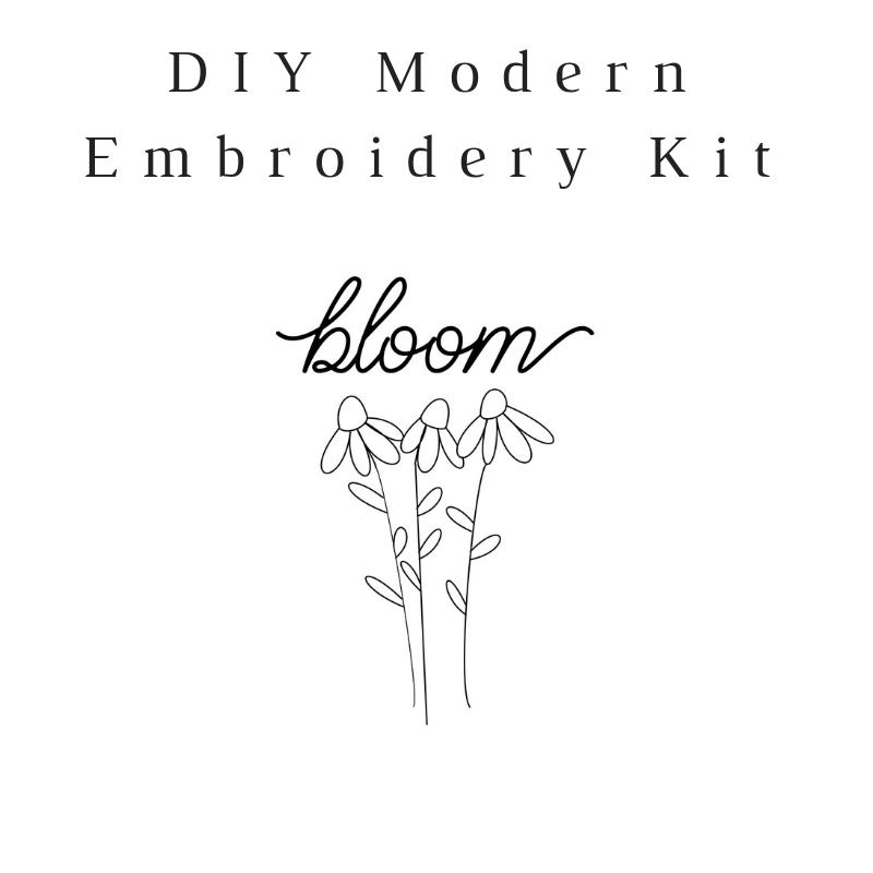Bloom Do-It-Yourself Embroidery Kit