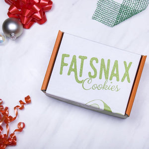 Fat Snax Keto Cookies for Christmas