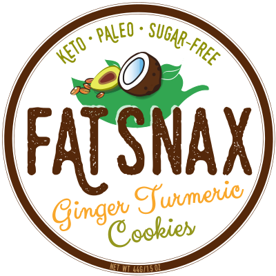 Fat Snax Ginger Turmeric Ketogenic Cookies