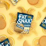 Fat Snax Lemony Lemon Cookies