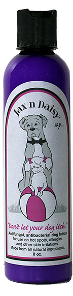 "Jax n Daisy ""Don't let Your Dog Itch"" Lotion 8oz"