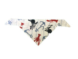 Lobster, Crab and Anchor Bandana L/XL