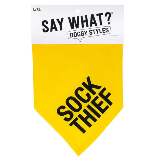Say What? Sock Thief Bandana