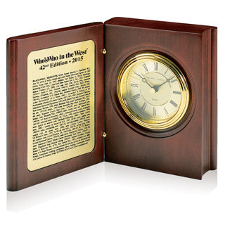 Book Clock | Marquis Who's Who Ventures LLC