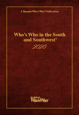 Who's Who in the South and Southwest 2020 | Marquis Who's Who Ventures LLC