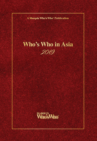 Who's Who in Asia 2019 | Marquis Who's Who Ventures LLC