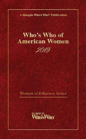 Who's Who of American Women 2019 | Marquis Who's Who Ventures LLC