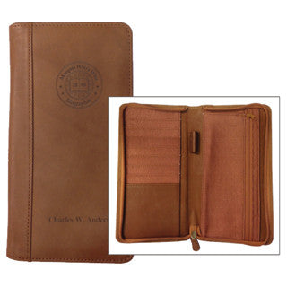 Leather Travel Wallet | Marquis Who's Who Ventures LLC