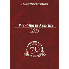 Who's Who in America 2016 - 70th Edition (2 Volume Set) | Marquis Who's Who Ventures LLC