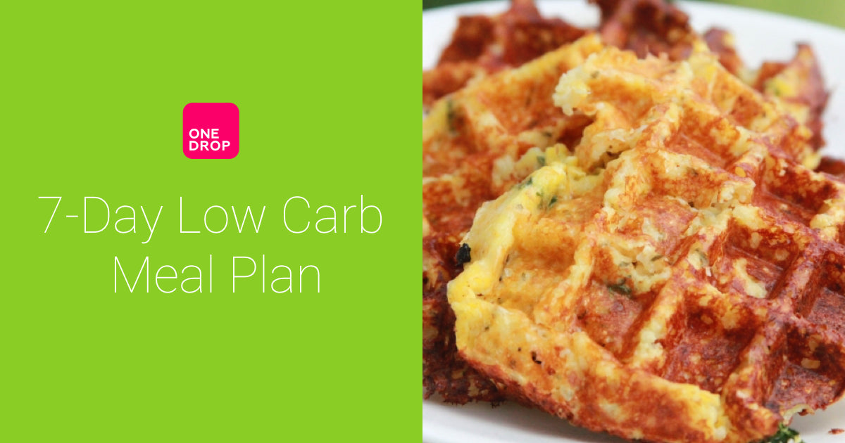 Meal plan (low carb, diabetes-friendly)