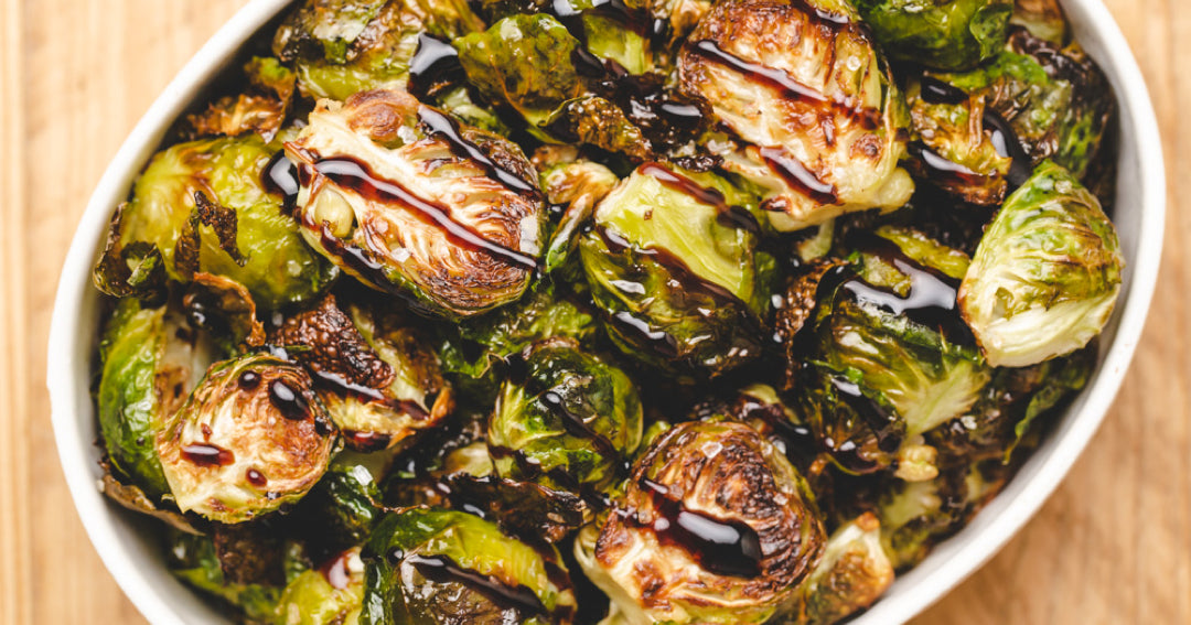 Crispy, Crunchy, Roasted Brussels Sprouts Recipe