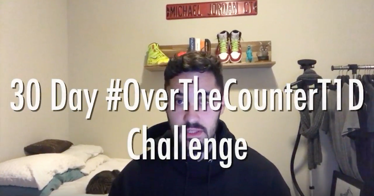 Rob Howe's Over-The-Counter T1D Challenge