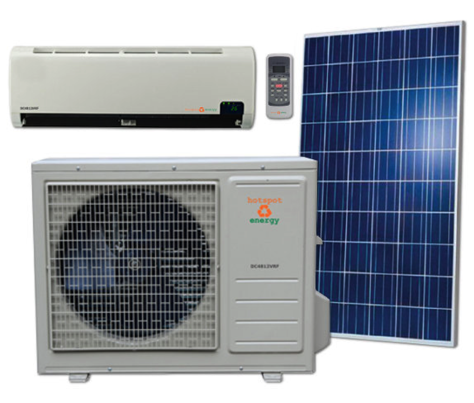 hotspot dc air conditioner and heat pump – effect energy savings