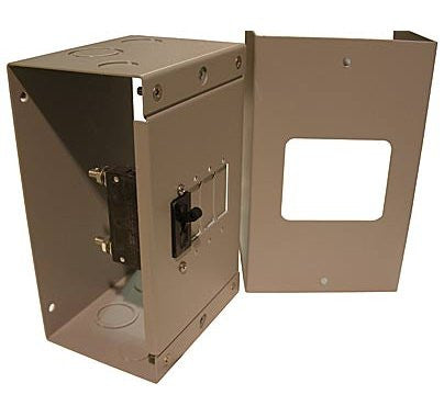 MidNite General Use aluminum enclosure for 4 panel mount type breakers from 5 - 100 amp