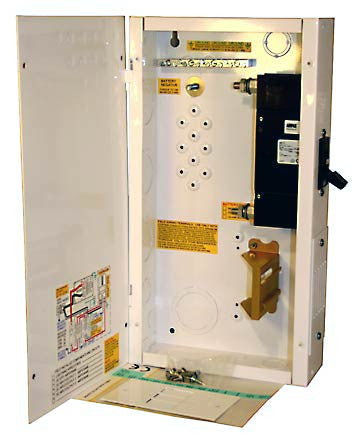 MidNite Breaker Box 125A or 175A or 250A/125Vdc, 5 Din rail breaker slots or 3 panel mount breaker slots