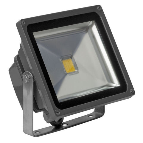 Exterior LED flood light, 10W, 12 / 24 VDC, IP65 housing, cool white temperature color