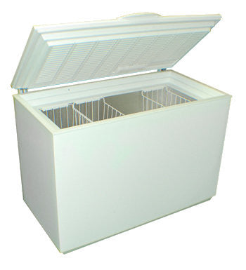 SunDanzer chest-style solar freezer, 12 / 24 VDC, 8.1 ft³ (229 liters) capacity DCF 225