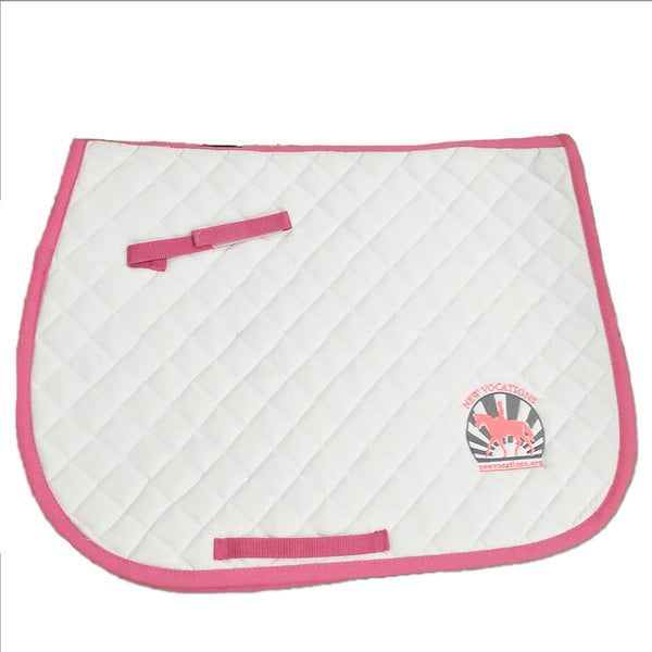 New Vocations Rider's International Quilted Cotton Pad by Dover Saddlery