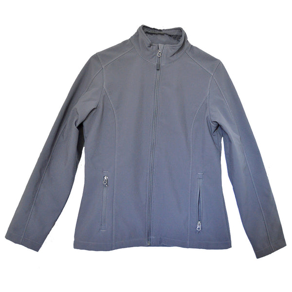 Ladies Soft Shell Jacket - Battleship Grey