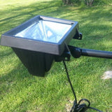High End Commercial Solar LED Flagpole Light