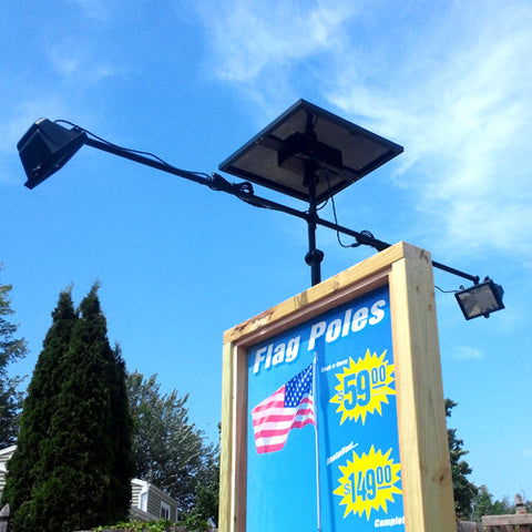 Commercial Solar Billboard Light II