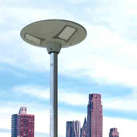 Solar Plaza Courtyard Street Light