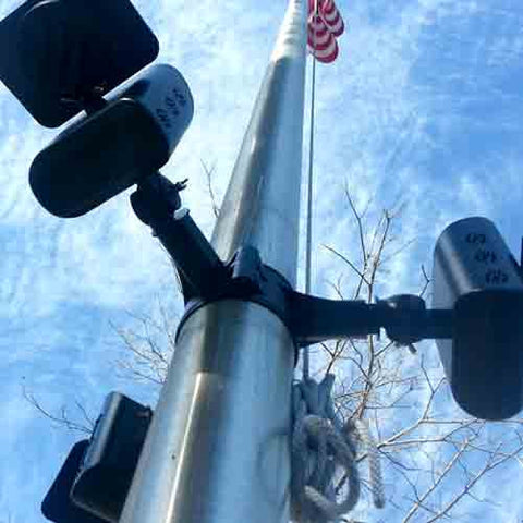 EXTREME SOLAR FLAGPOLE LIGHT