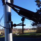 Bullhorn CREE Solar Flagpole Light Panel
