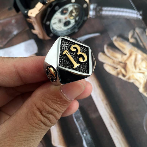 Stainless Steel Motorcycle Ring