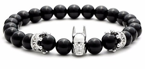 Batman & Crown Bracelet (4 colors)