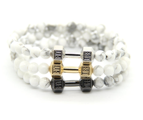 Fashion Dumbell  Bracelet (3 colors)